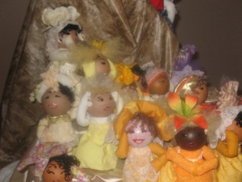 Good ole Air Freshener Dolls.